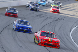 Justin Allgaier, JR Motorsports Chevrolet and Elliott Sadler, JR Motorsports Chevrolet