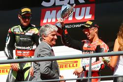 Podio: Marco Melandri, Ducati Team