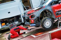 Sébastien Loeb Citroen gravel testing