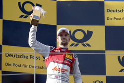 Podium: le deuxième Jamie Green, Audi Sport Team Rosberg, Audi RS 5 DTM