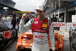 Le poleman Jamie Green, Audi Sport Team Rosberg, Audi RS 5 DTM
