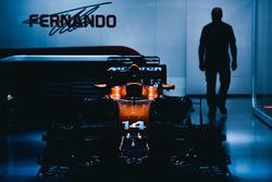 Der McLaren MCL32 von Fernando Alonso