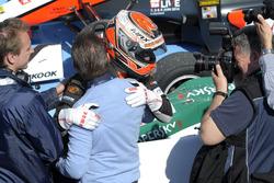 Max Verstappen, Van Amersfoort Racing Dallara F312 Volkswagen en Jos Verstappen