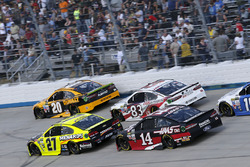 Matt Kenseth, Joe Gibbs Racing Toyota Paul Menard, Richard Childress Racing Chevrolet Clint Bowyer, Stewart-Haas Racing Ford Brett Moffitt, BK Racing Toyota