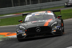 #99 Sports and You Mercedes AMG GT3: António Coimbra, Luis Silva