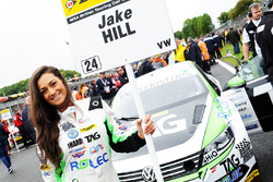 Grid girl of Jake Hill, Tony Gilham Racing Volkswagen CC