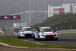 Alain Menu, BRC Racing Team, Hyundai i30 N TCR, Gabriele Tarquini, BRC Racing Team, Hyundai i30 N TCR