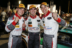 GTD winners Connor de Phillippi, Christopher Mies, Sheldon van der Linde, Land-Motorsport