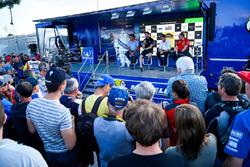 Руководитель команды Hyundai Motorsport Мишель Нандан, босс M-Sport Малкольм Уилсон и глава Citroën Racing Ив Маттон