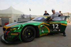 #12 Saudi Falcons Team Schubert BMW Z4: Abdulaziz Al Faisal, Faisal Binladen, Dominik Baumann, Dominik Schwager, Dirk Adorf