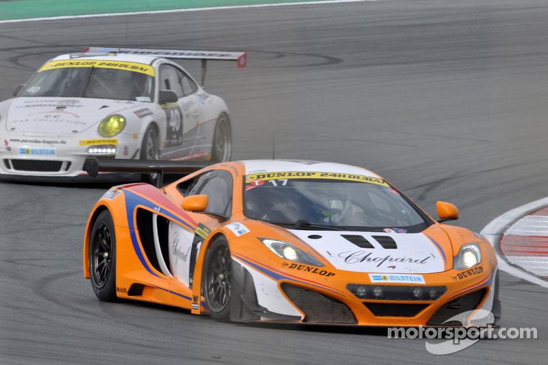 #17 Lapidus Racing McLaren MP4-12C GT3: Klaas Hummel, Adam Christodoulou, Phil Quaife, Tim Mullen