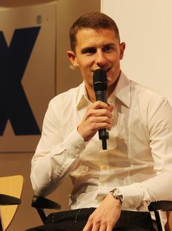 Matthew Wilson, piloto de rali no AutoSport Stage