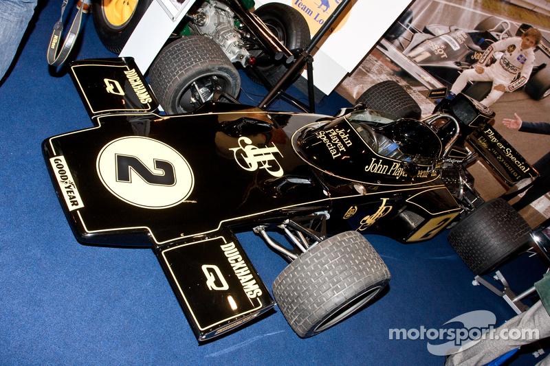 Jackie Ickx Lotus F1 Car