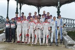Sesión de fotos del Rallye Monte-Carlo 2013