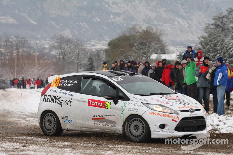 Alain Cornuz en Sylvain Cornuz, Ford Fiesta R2