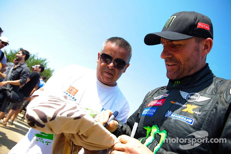 Auto-klassement: winnaar Stéphane Peterhansel