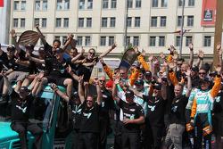 De Rooy Iveco team comemora