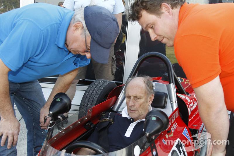 Hans Stuck beim Formel-V-Revival af dem Daytona International Speedway