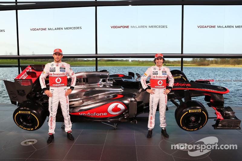 Дженсон Баттон и Серхио Перес. Презентация McLaren Mercedes MP4-28, Презентация.