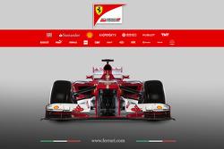 El Ferrari F138 de 2013