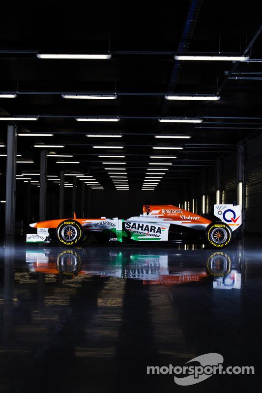 Der neue Sahara Force India VJM06