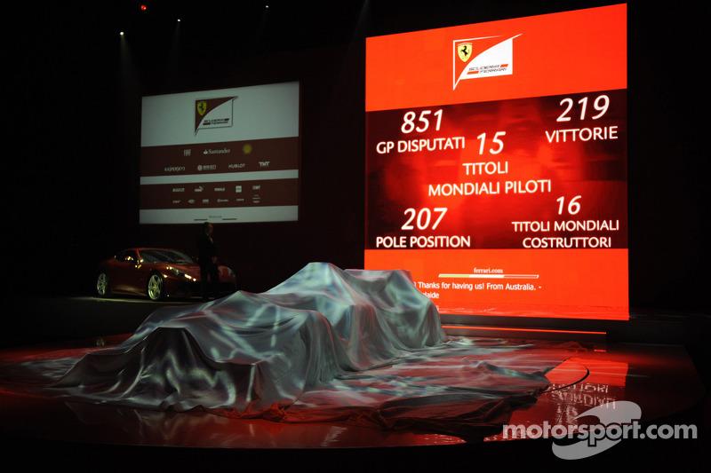 Презентация Scuderia Ferrari F138, Презентация.