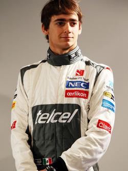 Эстебан Гутьеррес. Презентация Sauber F1 Team C32, Презентация.