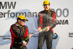 GS podium: champagne for Billy Johnson and Jack Roush Jr.