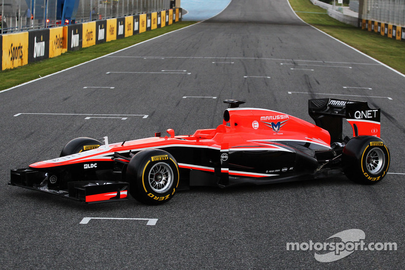 Презентация Marussia MR02, Презентация.