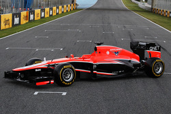 Präsentation: Marussia MR02