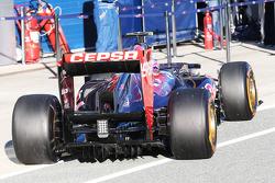 Daniel Ricciardo, Scuderia Toro Rosso, difusor traseiro