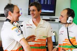 Gianpiero Lambiase, Sahara Force India F1 Engineer