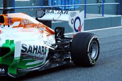 Paul di Resta, Sahara Force India VJM06 rear suspension