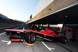 Luiz Razia, Marussia F1 Team MR02 leaves the pits