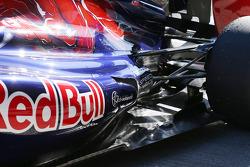 Scuderia Toro Rosso STR8 rear suspension