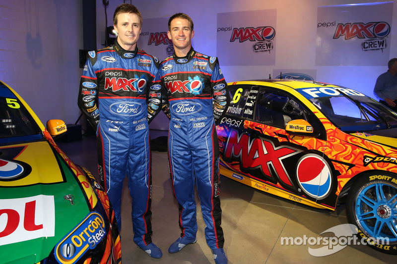 Will Davison and Mark Winterbottom present the 2013 Team FPR Ford