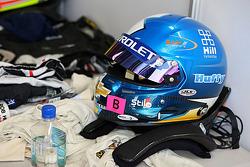 Rob Huff's helmet