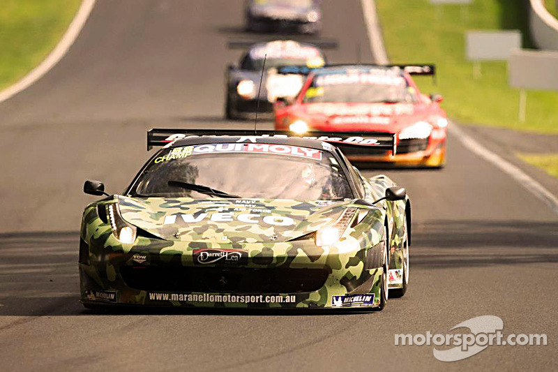 #88 Maranello Motorsport Ferrari 458: Allan Simonsen, Mika Salo, John Bowe, Peter Edwards
