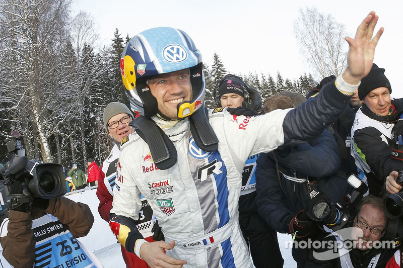Sébastien Ogier, seis veces campeón del mundo del WRC (de 2013 a 2018)
