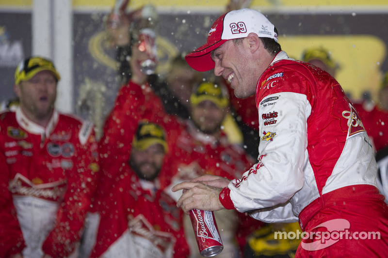Victory lane: Kevin Harvick, Richard Childress Racing Chevrolet celebrates