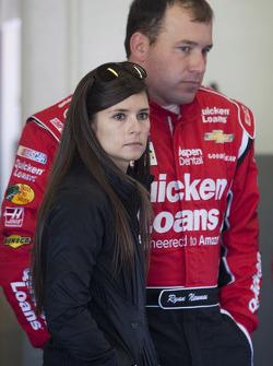 Ryan Newman and Danica Patrick