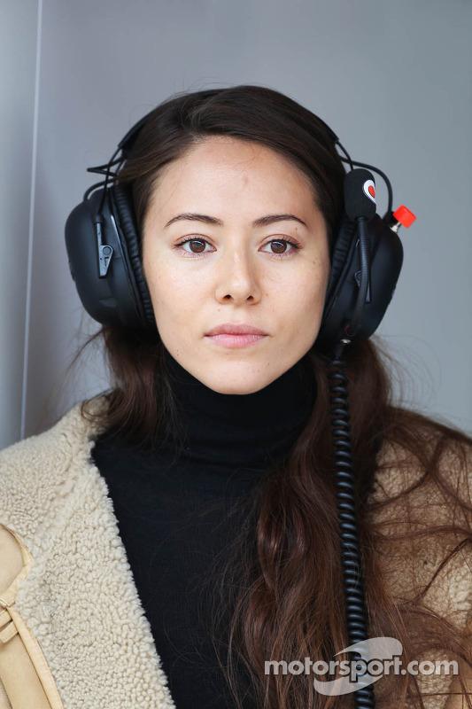 Jessica Michibata, vriendin van Jenson Button, McLaren