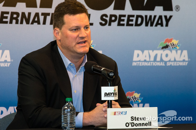 Post-race press conference: Steve O'Donnell, NASCAR's senior vice president for racing operations
