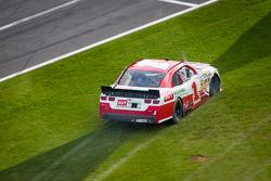 Kurt Busch in the grass
