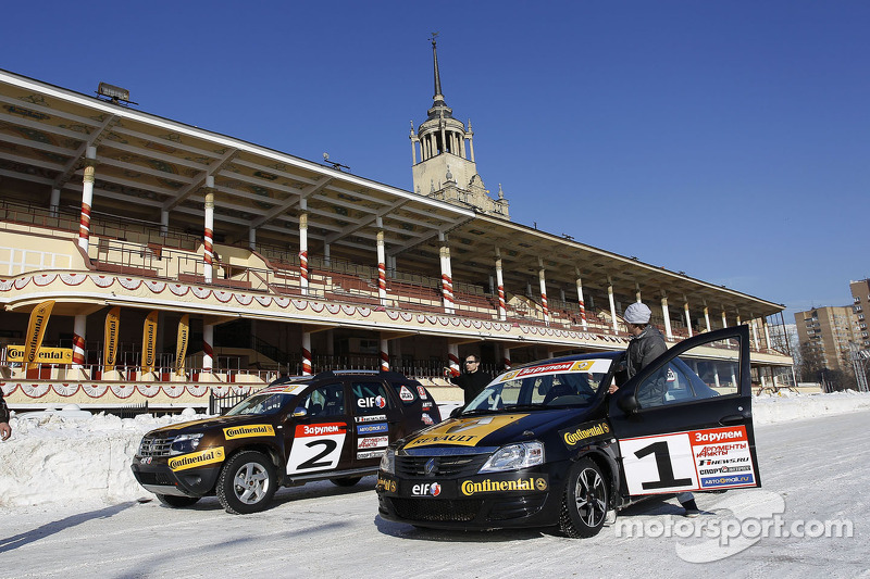 Renault cars used for the Race of Stars