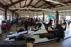 Atmosfera na garagem
