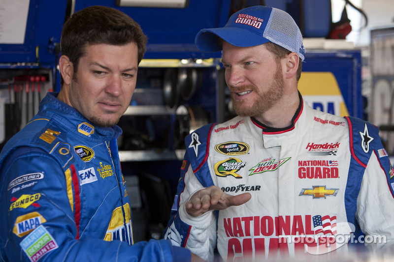 Martin Truex Jr. and Dale Earnhardt Jr.