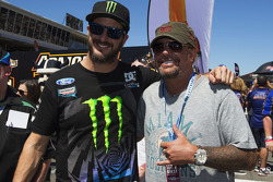 Ken Block visits the grid