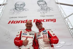 Gabriele Tarquini and Tiago Monteiro