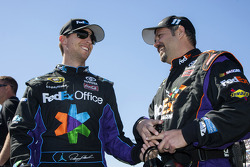 Denny Hamlin, Joe Gibbs Racing Toyota and crew chief Darian Grubb